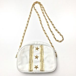 VTG 90s Star Studded Nautical Chain Strap Purse